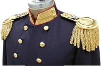 USMC Officer's Dress Frock Coat (Union) for all officer's except Commandant, coat detail