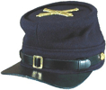 M1861 US Army Kepi with artillery insignia