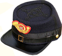 USMC Officers Kepi with emblem, American Civil War Men's Hat