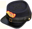 USMC Officer's Kepi, United States Civil War uniforms